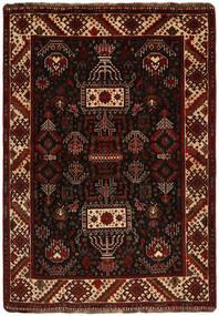 Qashqai Rug 118X167 Authentic  Oriental Handknotted Dark Brown (Wool, Persia/Iran)