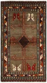 Qashqai Rug 117X200 Authentic  Oriental Handknotted Dark Brown/Brown (Wool, Persia/Iran)