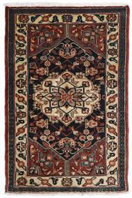 Asadabad Rug 81X121 Authentic  Oriental Handknotted Dark Brown/Black/Light Brown (Wool, Persia/Iran)