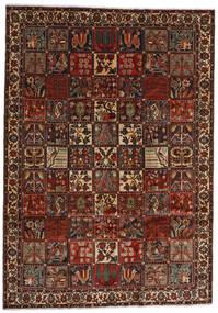 Bakhtiari Rug 225X317 Authentic Oriental Handknotted Dark Brown/Dark Red (Wool, Persia/Iran)