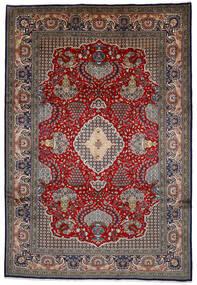 Shahreza Sherkat Rug 239X350 Authentic  Oriental Handknotted Dark Brown/Dark Red (Wool, Persia/Iran)