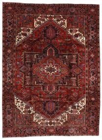 Heriz Rug 210X282 Authentic Oriental Handknotted Dark Red (Wool, Persia/Iran)