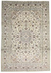 Keshan Rug 247X355 Authentic  Oriental Handknotted Beige/Light Grey (Wool, Persia/Iran)