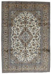 Keshan Rug 240X352 Authentic  Oriental Handknotted Dark Grey/Light Grey (Wool, Persia/Iran)