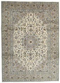 Keshan Rug 259X358 Authentic  Oriental Handknotted Light Grey/Dark Grey Large (Wool, Persia/Iran)