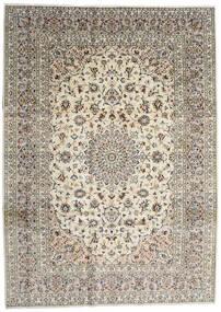 Keshan Rug 254X353 Authentic  Oriental Handknotted Light Grey/Beige/Dark Grey Large (Wool, Persia/Iran)