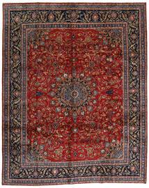 Mashad Rug 304X378 Authentic  Oriental Handknotted Dark Red/Dark Grey Large (Wool, Persia/Iran)
