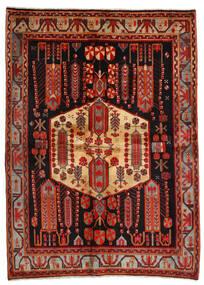 Afshar Rug 171X234 Authentic Oriental Handknotted Dark Red/Dark Brown (Wool, Persia/Iran)