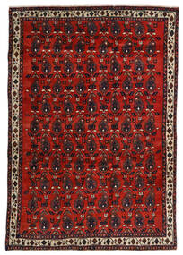 Afshar Rug 172X250 Authentic Oriental Handknotted Dark Red/Rust Red (Wool, Persia/Iran)