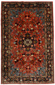 Mehraban Rug 188X290 Authentic Oriental Handknotted Dark Red/Rust Red (Wool, Persia/Iran)