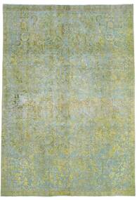 Vintage Heritage Rug 232X331 Authentic  Modern Handknotted Light Green/Olive Green (Wool, Persia/Iran)