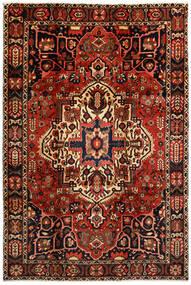 Bakhtiari Rug 214X316 Authentic Oriental Handknotted Dark Brown/Dark Red (Wool, Persia/Iran)