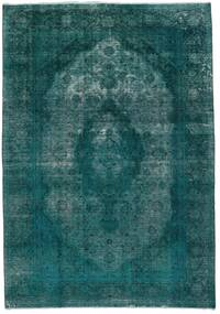 Vintage Heritage Rug 235X336 Authentic  Modern Handknotted Dark Turquoise  /Turquoise Blue (Wool, Persia/Iran)