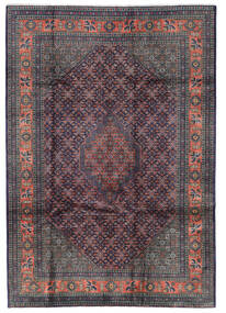 Ardebil Rug 205X291 Authentic Oriental Handknotted Dark Grey/Black/Dark Brown (Wool, Persia/Iran)