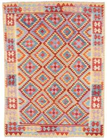 Kilim Afghan Old Style Rug 179X240 Authentic  Oriental Handwoven Light Purple/Light Brown (Wool, Afghanistan)