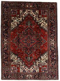 Heriz Rug 210X290 Authentic Oriental Handknotted Dark Brown/Dark Red (Wool, Persia/Iran)