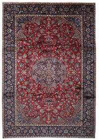 Najafabad Rug 262X375 Authentic  Oriental Handknotted Black/Light Grey Large (Wool, Persia/Iran)