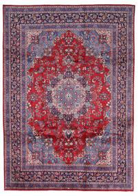 Mashad Rug 247X344 Authentic  Oriental Handknotted Light Grey/Crimson Red (Wool, Persia/Iran)