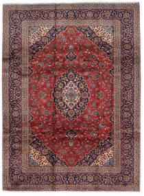 Keshan Rug 248X332 Authentic  Oriental Handknotted Dark Red/Dark Brown (Wool, Persia/Iran)