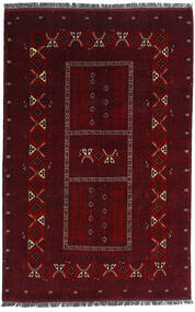 Kunduz Rug 164X251 Authentic  Oriental Handknotted Dark Red (Wool, Afghanistan)