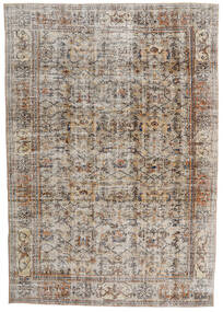 Vintage Heritage Rug 210X302 Authentic  Modern Handknotted Light Grey/Brown (Wool, Persia/Iran)