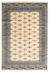 Pakistan Bokhara 2Ply Rug 170X248 Authentic  Oriental Handknotted Beige/Dark Grey/Light Grey (Wool, Pakistan)