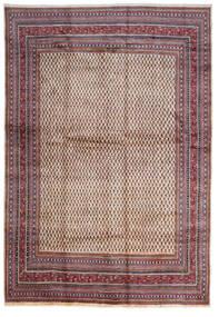 Sarouk Mir Rug 268X387 Authentic  Oriental Handknotted Dark Brown/Beige Large (Wool, Persia/Iran)