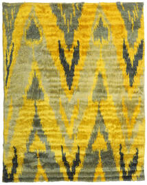 Handknotted Berber 35Mm Rug 240X300 Authentic  Modern Handknotted Yellow/Olive Green (Wool, India)