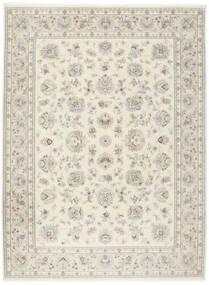 Tabriz 50 Raj With Silk Rug 255X345 Authentic  Oriental Handknotted Light Grey/Beige Large (Wool/Silk, Persia/Iran)