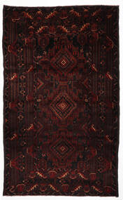 Baluch Rug 105X123 Authentic Oriental Handknotted Dark Red (Wool, Afghanistan)