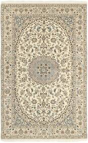 Nain 9La Rug 152X248 Authentic Oriental Handknotted Beige/Light Grey (Wool/Silk, Persia/Iran)
