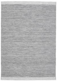 Serafina - Dark Grey Melange Rug 160X230 Authentic  Modern Handwoven Light Grey/Light Blue (Wool, India)