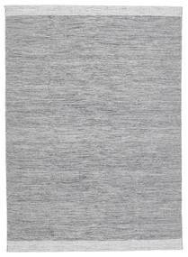 Serafina - Dark Grey Melange Rug 140X200 Authentic Modern Handwoven Light Grey (Wool, India)