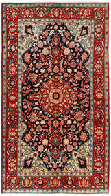 Mahal Rug 134X240 Authentic  Oriental Handknotted Dark Red/Rust Red (Wool, Persia/Iran)