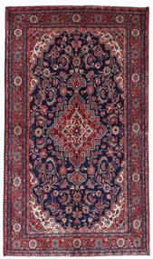 Mahal Rug 136X236 Authentic  Oriental Handknotted Dark Purple/Dark Red (Wool, Persia/Iran)