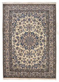 Nain Rug 167X233 Authentic  Oriental Handknotted Light Grey/Dark Grey/Beige (Wool, Persia/Iran)