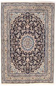 Nain Rug 163X249 Authentic  Oriental Handknotted Light Grey/Dark Grey (Wool, Persia/Iran)
