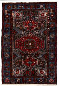 Saveh Rug 142X210 Authentic Oriental Handknotted Dark Red (Wool, Persia/Iran)