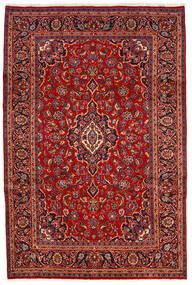 Keshan Rug 200X300 Authentic  Oriental Handknotted Dark Red/Rust Red (Wool, Persia/Iran)