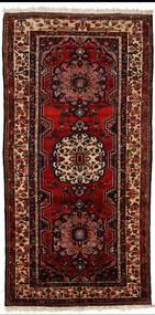 Bakhtiari Rug 150X305 Authentic Oriental Handknotted Hallway Runner Dark Red (Wool, Persia/Iran)