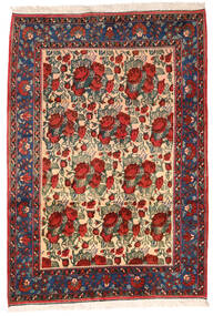 Afshar Rug 164X235 Authentic Oriental Handknotted Dark Red/Black (Wool, Persia/Iran)