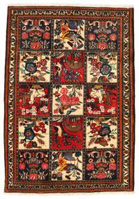 Bakhtiari Collectible Rug 113X161 Authentic Oriental Handknotted Dark Brown/Crimson Red (Wool, Persia/Iran)