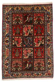 Bakhtiari Collectible Rug 105X152 Authentic Oriental Handknotted Dark Brown/Dark Red (Wool, Persia/Iran)