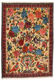 Bakhtiari Collectible Rug 107X154 Authentic  Oriental Handknotted Dark Beige/Crimson Red (Wool, Persia/Iran)