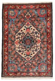 Bakhtiari Collectible Rug 108X157 Authentic  Oriental Handknotted Dark Brown/Dark Red (Wool, Persia/Iran)