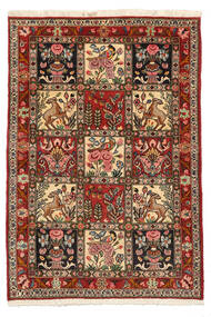 Bakhtiari Collectible Rug 103X150 Authentic  Oriental Handknotted Dark Brown/Light Brown (Wool, Persia/Iran)