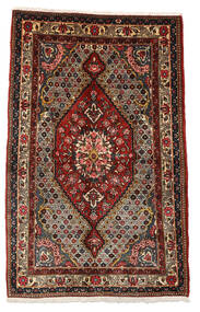 Bakhtiari Collectible Rug 100X158 Authentic  Oriental Handknotted Dark Brown/Dark Red (Wool, Persia/Iran)