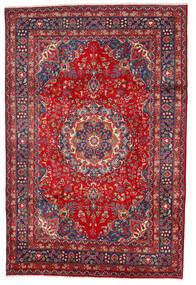 Mashad Rug 197X297 Authentic  Oriental Handknotted Dark Red/Dark Purple (Wool, Persia/Iran)