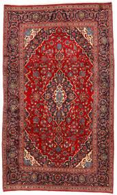 Keshan Rug 192X325 Authentic  Oriental Handknotted Dark Red/Rust Red (Wool, Persia/Iran)