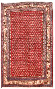 Arak Rug 125X205 Authentic  Oriental Handknotted Dark Red/Crimson Red (Wool, Persia/Iran)